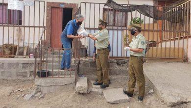 Photo of Carabineros entrega ayuda a familias vulnerables y adultos mayores de Antofagasta