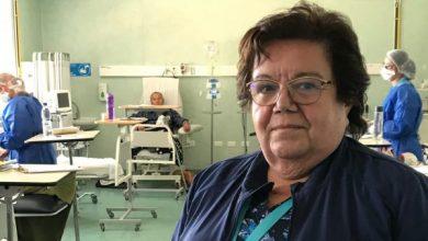 Photo of Mónica González:  Cuatro décadas de enfermera hoy dedicada a pacientes oncológicos
