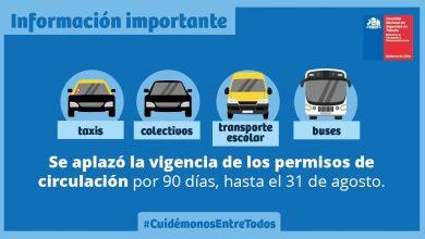 Photo of POSTEGACIÓN DE PAGO DE PERMISOS DE CIRCULACIÓN PARA TAXIS, TRANSPORTES ESCOLARES Y BUSES