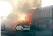 Photo of Incendio destruyó vivienda de dos pisos en Calama