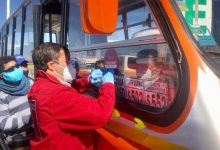 Photo of Entregan identificaciones a microbuses urbanos y rurales