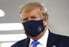 Photo of Trump aparece con mascarillas por primera vez desde inicio de coronavirus