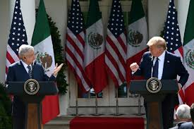 Photo of Trump y López Obrador se elogian ignorando tensiones entre EEUU y México