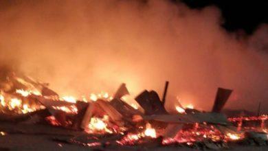 Photo of Incendio destruye humilde vivienda en sector poniente de Calama, un herido