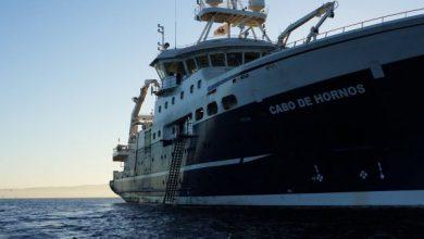 Photo of En el buque Cabo de Hornos IFOP realiza crucero de investigación sobre merluza del sur, de cola y de tres aletas