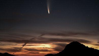 Photo of Expertos de la UA comentan el paso del cometa NEOWISE por la región