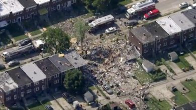 Photo of ÚLTIMA HORA: Gran explosión de gas en Baltimore derrumba tres edificios residenciales