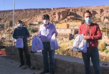 Photo of Comunidades de Toconce y Caspana recibieron kits de insumos sanitarios