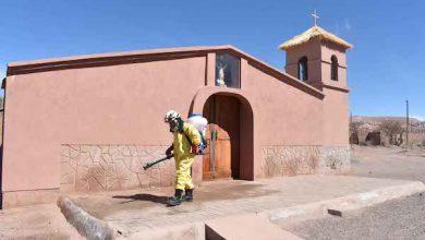 Photo of Codelco junto a Bomberos llevan sanitización a Ayllus y juntas de vecinos de Atacama La Grande