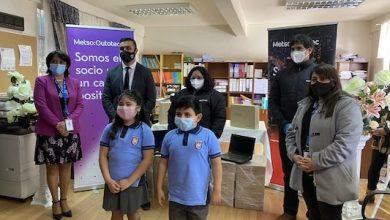 Photo of Escuela República de Grecia recibió importante donación de computadores para los niños más vulnerables