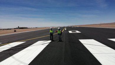 Photo of MOP presenta positivo avance en obras de conservación en área de movimiento en aeródromo El Loa