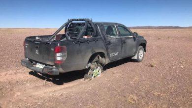Photo of Encuentran camioneta que había sido sustraída en portonazo