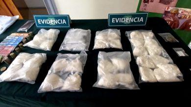 Photo of Carabineros evita la comercialización de 12 mil dosis de pasta base en la Chango López