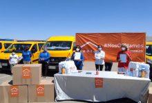 """Photo of Codelco entregó kits sanitarios a gremios del Transporte Escolar  y voluntariado de """"Carrete con Cristo"""""""