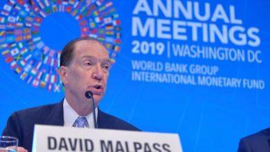 Photo of Director del Banco Mundial insta a los países a firmar contratos de vacunas ahora