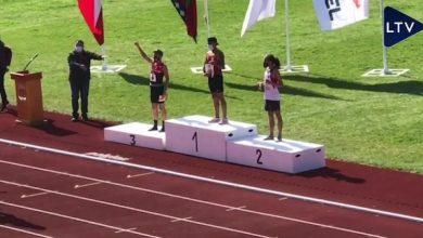 Photo of Calameño David Balderas se coronó campeón nacional en 10 mil metros planos