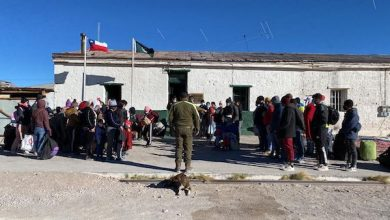 Photo of 62 migrantes ilegales detenidos en Ollagüe