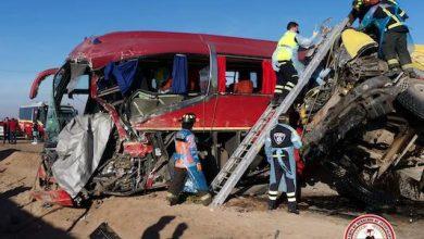 Photo of 4 muertos en dos colisiones Nudo Uribe Antofagasta