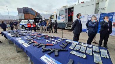 Photo of Contrabando de armas en Iquique: Aduanas intercepta piezas para armar 30 fusiles
