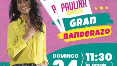 Photo of Hoy invitan 11:30 horas a Banderazo en apoyo candidata Paulina Núñez