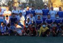 Photo of Viejos Cracks de la Liga Exótica y Comité Directivo de Chuquicamata disputaron partido de inauguración