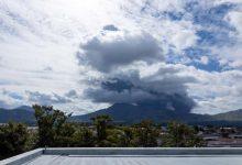 Photo of Continúa alerta por erupción del volcán Aso